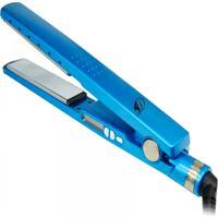Prancha Chapinha Nano Titanium Profissional Ate 450°F Bivolt - Diva - Azul