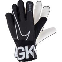 Luvas De Goleiro Nike Gk Match 19 - Adulto - Preto