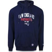 2e1627c11 Casaco Moletom New England Patriots Core Canguru - New Era - Masculino