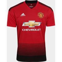 Camisa Manchester United Home 2018 S/N° Torcedor Adidas Masculina - Masculino