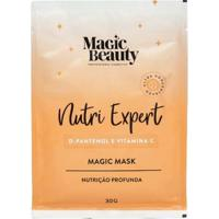 Máscara Capilar Sachê Magic Beauty Nutri Expert 30G - Unissex-Incolor