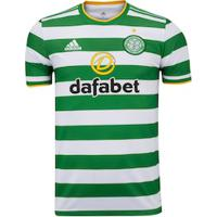 Camisa Celtic I 20/21 Adidas - Masculina - Branco/Verde
