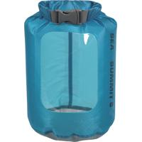 Saco Estanque Sea To Summit 802440 1 Litro Ultra-Sil View Dry Sack Para Atividades Outdoor Azul