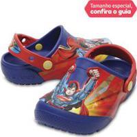 Crocs Infantil Funlab Super Homem Clog Azul - 24