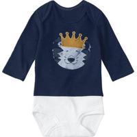 Body Bebê Tigor T. Tigre Masculino - Masculino-Azul