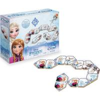 Jogo Dominó Educativo Frozen Disney Xalingo