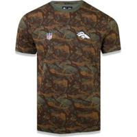 Camiseta Denver Broncos Nfl New Era Masculina - Masculino