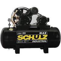 Compressor De Ar Alta Pressão 20 Pés 200 Litros Trifásico - Max Csv 20/200 - Schulz