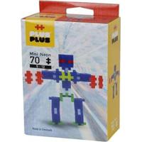Brinquedo Infantil Jokenpô/Steam Toy Neon Robots 70 Pcs - Unissex
