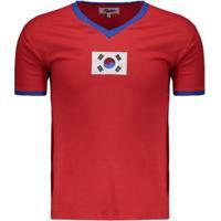 Camisa Retrô Coreia Do Sul 1970 Masculina - Masculino
