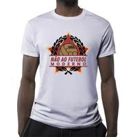 Camiseta Não Ao Futebol Moderno Masculina - Masculino