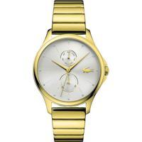 Relógio Lacoste Feminino Aço Dourado - 2001053