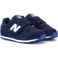 New Balance Kids Tênis 373 Com Velcro - Azul