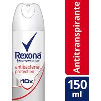 Desodorante Rexona Women Aerosol Antitranspirante Antibacterial Protection Feminino 150Ml - Feminino-Incolor