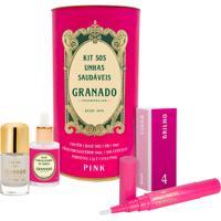 Kit Granado Sos Unhas Saudáveis (4 Produtos)