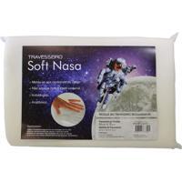 Travesseiro Viscoelástico Soft Nasa Altura 10 Cm