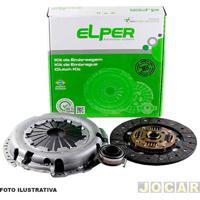 Kit De Embreagem - Elper - J3 1.4 16V 2010 Em Diante/J5 1.5 16V 2011 Em Diante - Com Disco, Platô E Rolamento - Jogo - 80358