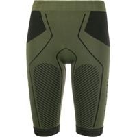 Unravel Project Knee Length Stretch Shorts - Verde