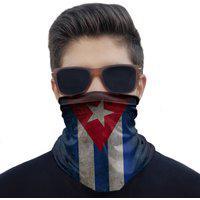 Máscara Bandana Cuba Proteção Ciclismo Pesca Moto