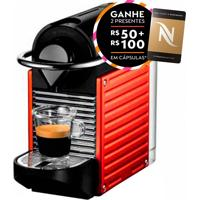 Máquina De Café Espresso Pixie Electric Red 19 Bar De Pressão C60- Nespresso