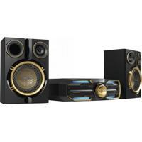 Mini Hi-Fi System 600W Rms Bivolt Fx30X/78 Preto/Dourado Philips