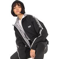 Jaqueta Dupla Face Adidas Originals Rev Cinza/Preta
