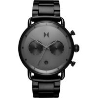 Relógio Mvmt Masculino Aço Preto - D-Bt01-Bb