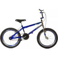 Bicicleta Cross Aro 20 Roda Aero Freio V-Brake Aluminio - Masculino