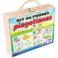 Kit 13 Provas Piagetianas Carlu Com Maleta