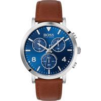 Relógio Hugo Boss Masculino Couro Marrom - 1513689