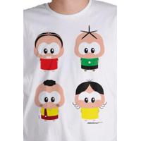 Camiseta Bandup! Turma Da Mônica A Turma Toy - Masculino-Branco