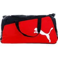 Bolsa Puma Pro Training Vermelha E Preta