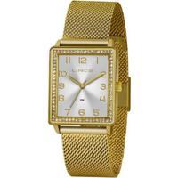 Relógio Lince Urban Lqg4665Ls2Kx Feminino - Feminino-Dourado