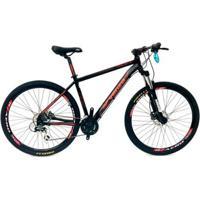 Bicicleta Aro 29 Venzo Aquila 27V Cambio Tras. Acera Trava Freio Hidráulico - Unissex