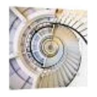 Placa Decorativa 38X38Cm - Escada