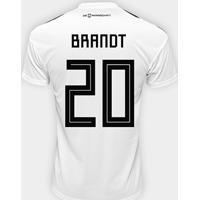 f6cf4f4450 Netshoes  Camisa Seleção Alemanha Home 2018 N° 20 Brandt - Torcedor Adidas  Masculina - Masculino