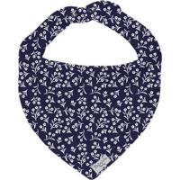 Bandana Floral - Azul Marinho & Branca- 0,5X23X18Cm Batistela
