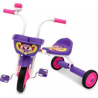 Triciclo Infantil Ultra Top Girl Branco E Roxo - Pro Tork