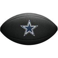 Bola De Futebol Americano Wilson Dallas Cowboys Wtf1540Bkdl, Cor: Preto/Azul Marinho, Tamanho: Único