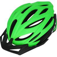 Capacete Cly In Mold Mtb/Urbano Para Ciclismo G Preto/Verde