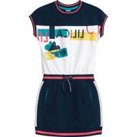 Vestido Lilica Ripilica Infantil 1011023166577 Azul
