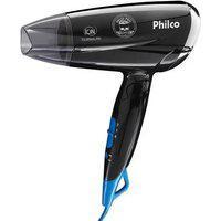 Secador De Cabelo Philco Skull Pro Travel Psc07P, 2 Velocidades, 2 Temperaturas, 1200W, Bivolt - 53503063