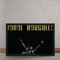 Quadro Decorativo Gogol Bordello Horizontal 25X35