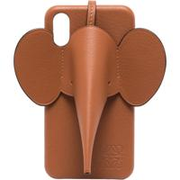 Loewe Capa Para Iphone Xs Com Elefante - Marrom
