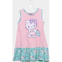 Camisola Infantil Up Baby Hello Kitty - Feminino