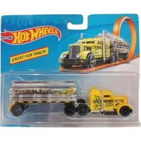 Carrinho Hot Wheels - Track Stars - Fuel & Fire - Mattel