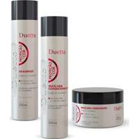 Kit Proteção Da Cor Duetto Shampoo 300Ml+ Cond 300Ml + Máscara 280G - Unissex-Incolor