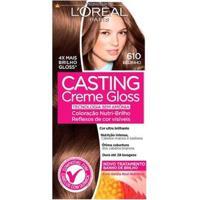 Coloração Casting Creme Gloss L?Oréal Paris ? Tons Claros 610 Beijinho - Unissex-Incolor