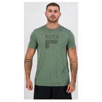 Camiseta Fila Dna Ii Verde Mescla