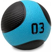 Bola Medicine Ball 3 Kg Peso Cross Funcional - Liveup Sports - Unissex